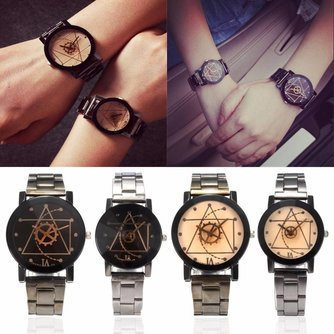 Heren / Dames Horloge met Kompas Ontwerp