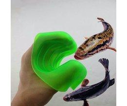 Plastic Handschoen Voor Vissen