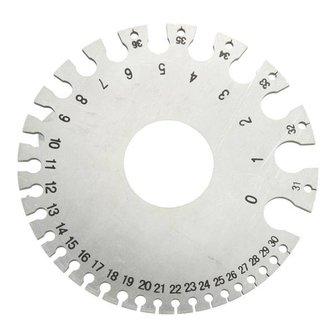 Draadmeter voor het Meten van Draad Diameter