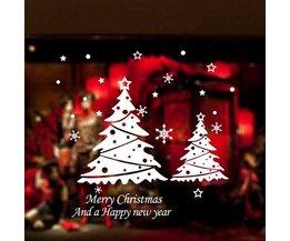 Raamdecoratie voor Kerst