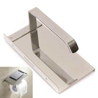 Toiletrolhouder van RVS