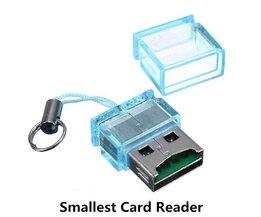 Mini Micro SD Kaartlezer met USB Aansluiting