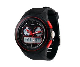 SKMEI 0957 Horloge Van Rubber In Meerdere Kleuren