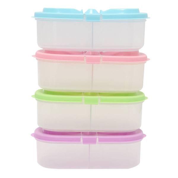 Plastic doosje met twee vakken kopen i myxlshop tip for Plastic doosjes