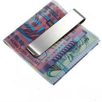 Geldclips van RVS
