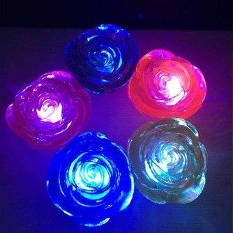 Decoratieve LED Lamp In De Vorm Van Een Roos