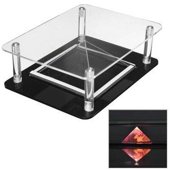 3D Hologram Display Voor Smartphones & Tablets