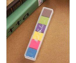 Stempelkussens In Meerdere Kleuren