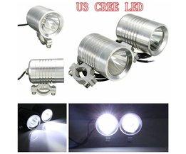 LED Koplampen U3 CREE Spotlight voor de Motor