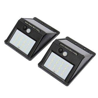 Waterbestendige Sensorlamp Op Zonne-Energie