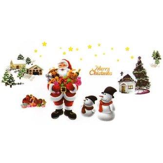 Muurstickers voor Kerst