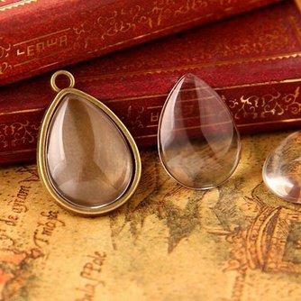 Glazen Hangers In De Vorm Van Een Druppel 10 Stuks