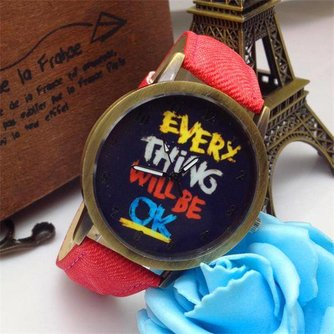 Everything Will Be Ok Horloge