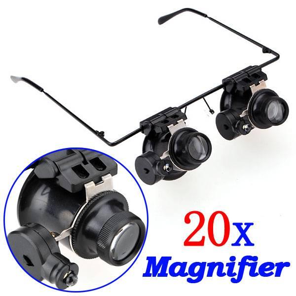 Vergrootglas Bril Met LED Verlichting kopen? I MyXLshop (Tip)