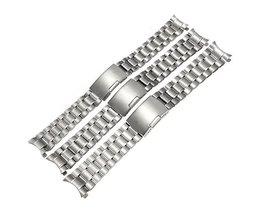 Horlogeband Van Roestvrij Staal In Twee Maten