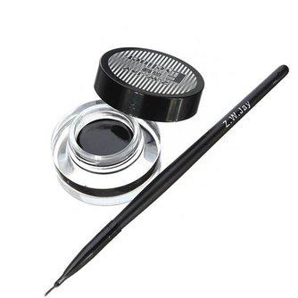 Zwarte Cream Eyeliner die Perfect Blijft Zitten