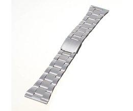 Zilveren Horlogebandje In Verschillende Maten