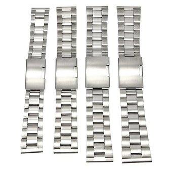 Horlogebandje Van Roestvrij Staal In Meerdere Maten