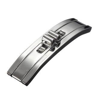 Zilveren Vlindersluiting Van Roestvrij Staal