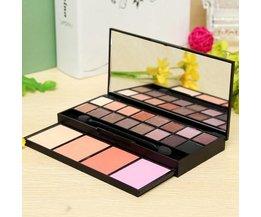 Uitgebreide Make-Up Set met 16 Kleuren