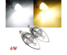 Witte/Warm Witte LED Lamp Kaars