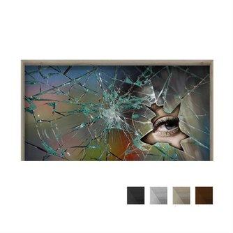 PAG 3D Tafelsticker Met Gebroken Glas
