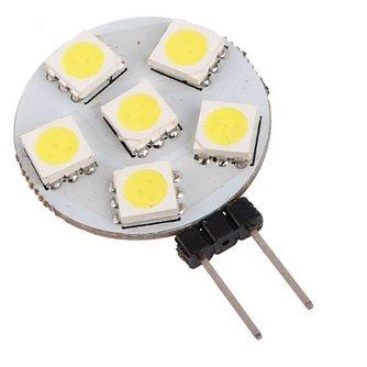 LED Lamp G4 12V Plat met 6 SMD Lampjes