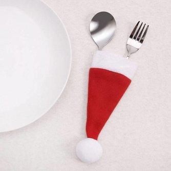 Bestekzakje Kerstmuts