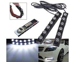 Dagrijlichten LED Wit 2 Stuks voor de Auto