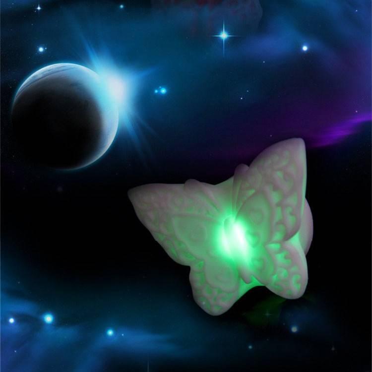 Nachtlampje met Vlinder