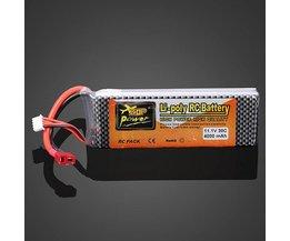 RC Batterij Lipo ZOP Power 11.1V 4000MAH 30C