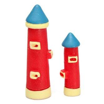 Miniatuur Vuurtoren In Twee Maten