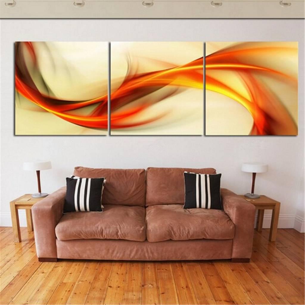 3 delig schilderij op canvas i myxlshop supertip for Set of three canvas paintings