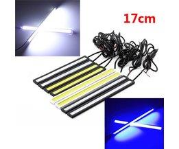 LED Running Lights Blauw en Wit Met Lengte 17CM