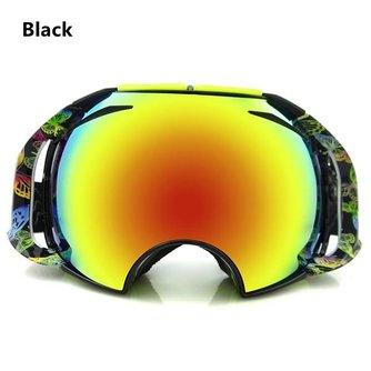 Skibrillen Spiegelglas