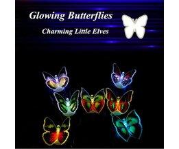 Kindernachtlampje LED Vlinder Kleurveranderen