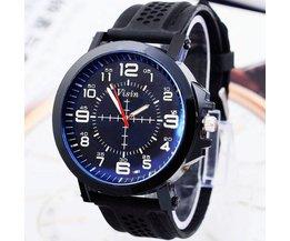 Sportief Horloge met Siliconen Bandje