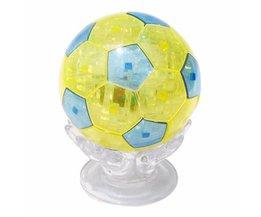 3D Puzzel Voetbal 76Stukjes