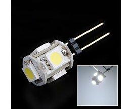 G4 LED Lamp 12V met 5SMD 5050 Lampjes Helder Wit