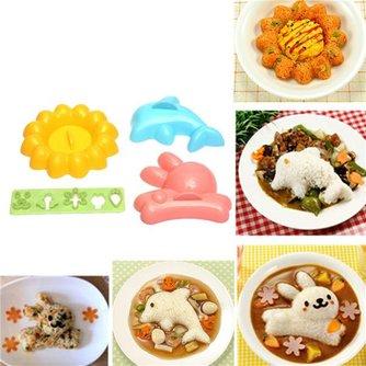 4 Schattige Kookvormpjes