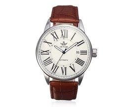 Leren Sewor Horloge