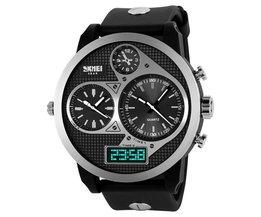 SKMEI Analoog En Digitaal Horloge