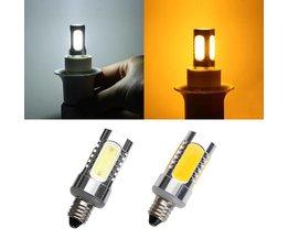 E11 LED COB Lamp In Twee Kleuren 7W