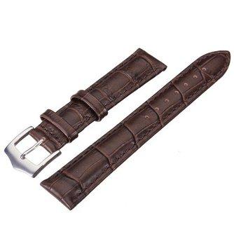 Hoge Kwaliteit Bruine Horlogeband van PU Leer