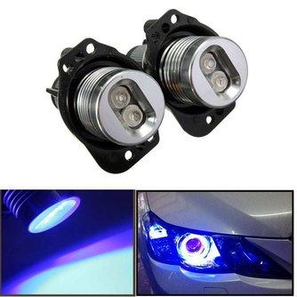 Angel Eyes Lampen LED Blauw voor BMW E90 en E91