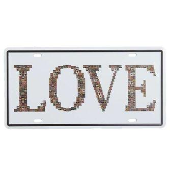 "Plaques ""Love"""