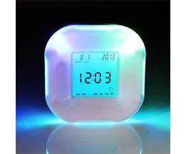 Digitale Wekker LED Multifunctioneel
