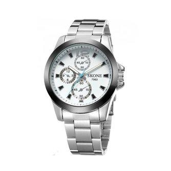 SKONE 7063 Heren Horloge In Twee Kleuren