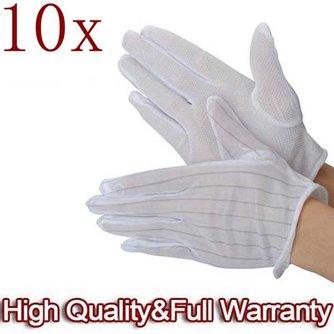 Anti statische Handschoenen 10 Stuks