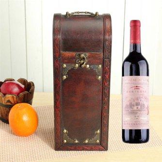 Retro Wijndoos van Hout